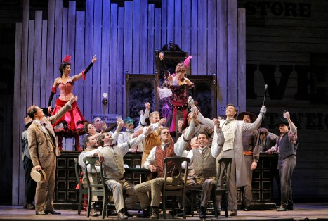 Show Boat onstage at San Francisco Opera