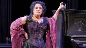 "Soprano Patricia Racette as Julie La Verne in Jerome Kern's ""Show Boat"" at the San Francisco Opera"