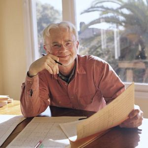American composer John Adams