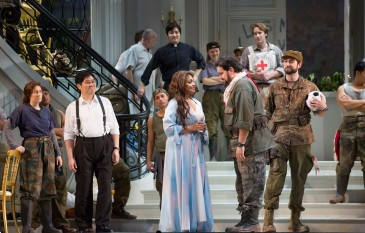 """Lyric Opera of Chicago's production of """"Bel Canto"""" starring Danielle de Niese"""