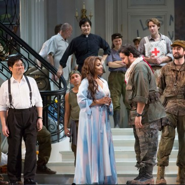 "Lyric Opera of Chicago's production of ""Bel Canto"" starring Danielle de Niese"